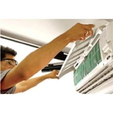 Instalação de ar condicionado com tubulação ate 5 metro linear, manutenção , corretiva e preventiva.